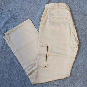 Pants - The Limited - Chinos, Cream-colored. Size 2